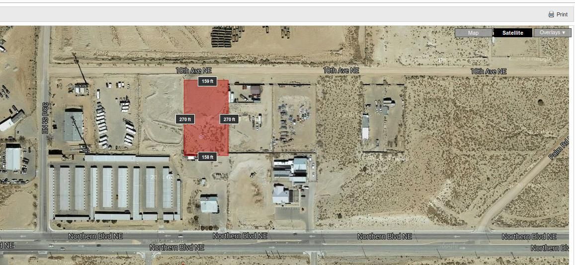 M-1 zoned lot 10th St RR NE, Rio Rancho, NM 87144