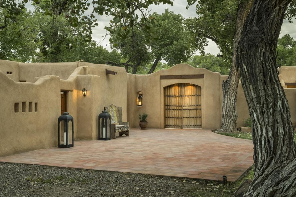 adobe style homes for sale nm