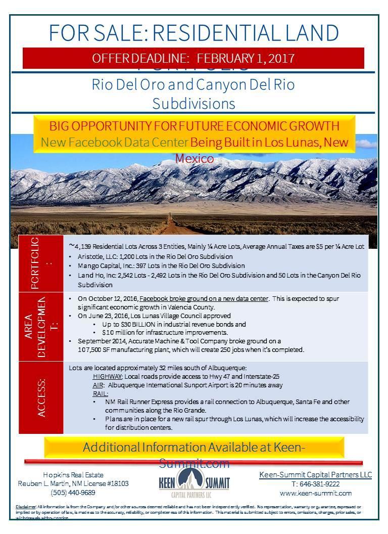 Rio Del Oro and Canyon Del Rio Parkway NE, Los Lunas, NM 87031