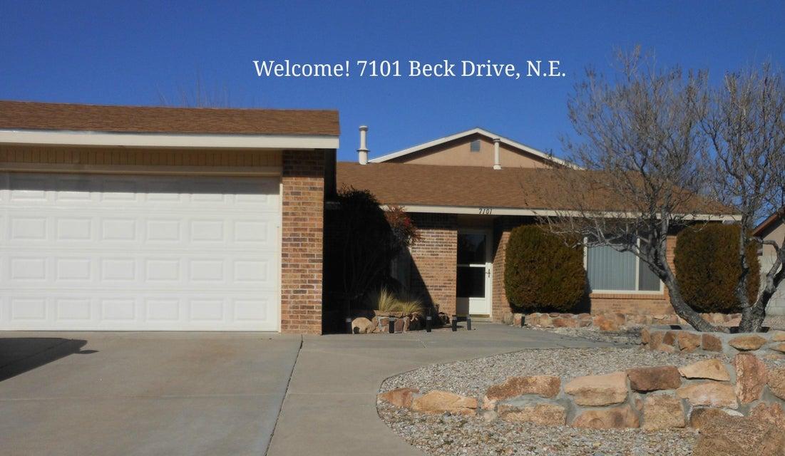 7101 Beck Drive NE, Albuquerque, NM 87109
