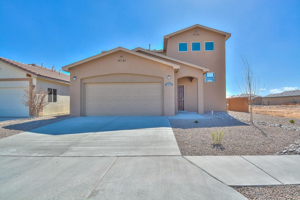 Brand New Twilight Home! This 2600 sq. ft, 5 bedroom, 3.5 bath /Model home has all the upgrades! Double Master Suites features two large master bathrooms with walk in showers, separate tubs, cultured marble countertops and large walk-in closets. The kitchen is finished with upgraded cabinets, granite countertops, tile backsplash, and tile floors. Located in Paradise View with easy access to major roads, shopping and services. Residents can also play at Desert Greens Golf Course and enjoy the benefits of the clubhouse and restaurant.