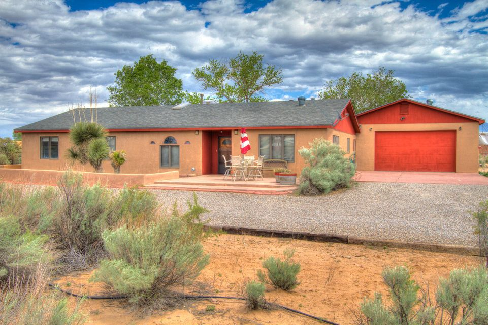 694 Perfecto Lopez Road, Corrales, NM 87048