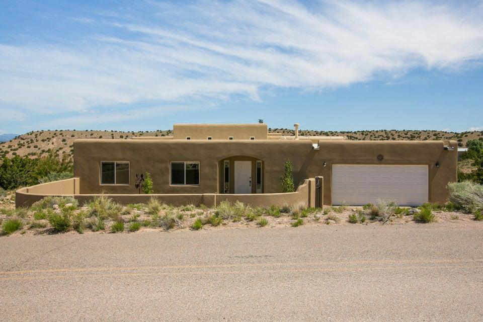25 Cienega Canyon Road, Placitas, NM 87043