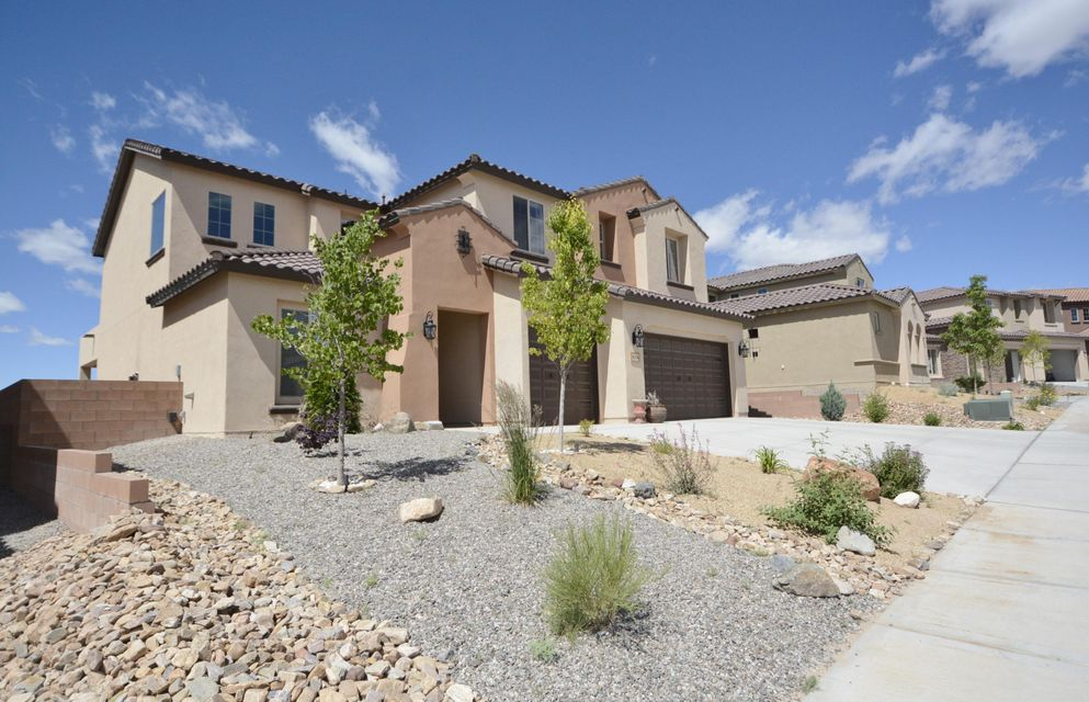 Loma Colorado's premier Gated community, Tres Colinas. Spacious 6 bdrm home, Spruce model, completed August '16. Main floor offers a light-filled great room, gourmet kitchen, granite counters, oversized island, pantry & upgraded cabinets. The dining room looks out to the fully landscaped yard w/ VIEWS. Master suite with Spa-like bath, walk-in closet, granite counter tops, & sitting area. Jr suite w/ full bath. Oversized laundry room & 1/2 bath. Enter the second level to be greeted w/ a Loft & Media Room. Projector & screen stay! 4 more bedrooms, jack-n jill bath plus additional full bath. Wood like tile throughout. Neutral carpet in bdrms & loft. Loma Colorado features 90 ac of Parks & Open Space, walking trails & dog park. Walk to RRHS, Library, Aquatic Center, Soccer ,Tennis, & Ice Rink