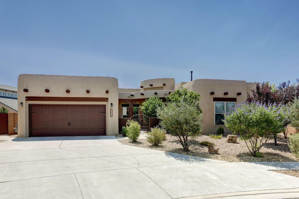 OPEN HOUSE Sunday 08/13 from 12P to 2P!Welcome to this Cabezon Stunner! Luxurious and great location, the duo that rarely comes along. This Wallen Built Home offers 2 master bedrooms and a wonderful floor plan. The Large Wooden Doors, Ceramic Tiles, Butler's Pantry, and Fine Finishes throughout the house will leave you in Awe! To top it off the back yard is facing the Sandia's and built for entertaining! Featuring a Built in Gas Grill, Synthetic Grass, and Beautiful Landscaping! Come join the beautiful community of Cabezon!