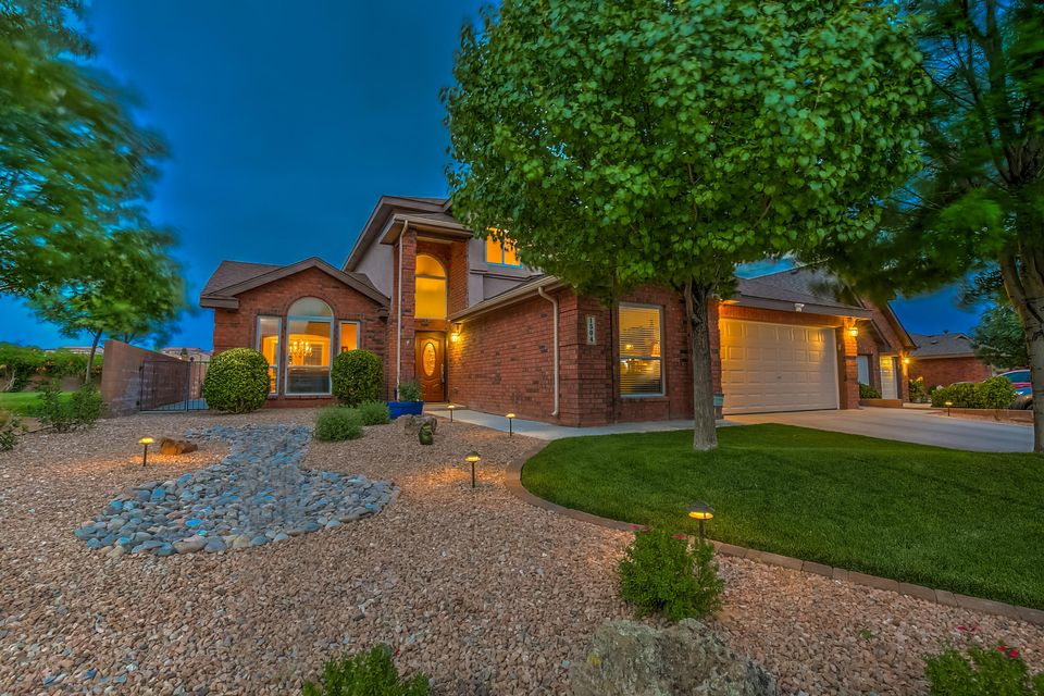 Community,Views,and Elegance only partially describes this amazing Pulty beauty.  Situated in the heart of the Cul-De-Sac this home provides space, comfort and views of the park and the mountains.  This gorgeous home has been meticulously maintained and upgraded.  Everything from the Pella windows (Jan 2017) to the energy efficient NEW A/C units with smart control and tankless hot water heater.  In the last 12 months this home has new carpeting, paint inside and out, upgraded lights, hardware, flooring, custom Four Season heated and cooled sunroom, gourmet kitchen appliances, upgraded landscaping and finished heated/cooled garage with commercial grade flooring(recent receipts totaling over $165,000).  Come walk through this amazing home nestled in the beautiful gated Corazon at Cabezon