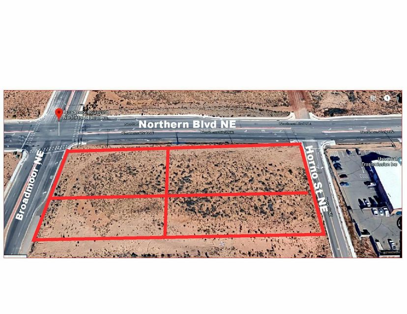 Broadmoor and Northern Blvd NE  NE, Rio Rancho, New Mexico 0 Bedroom as one of Homes & Land Real Estate