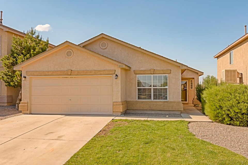733 NE Playful Meadows Circle, Rio Rancho in Sandoval County, NM 87144 Home for Sale