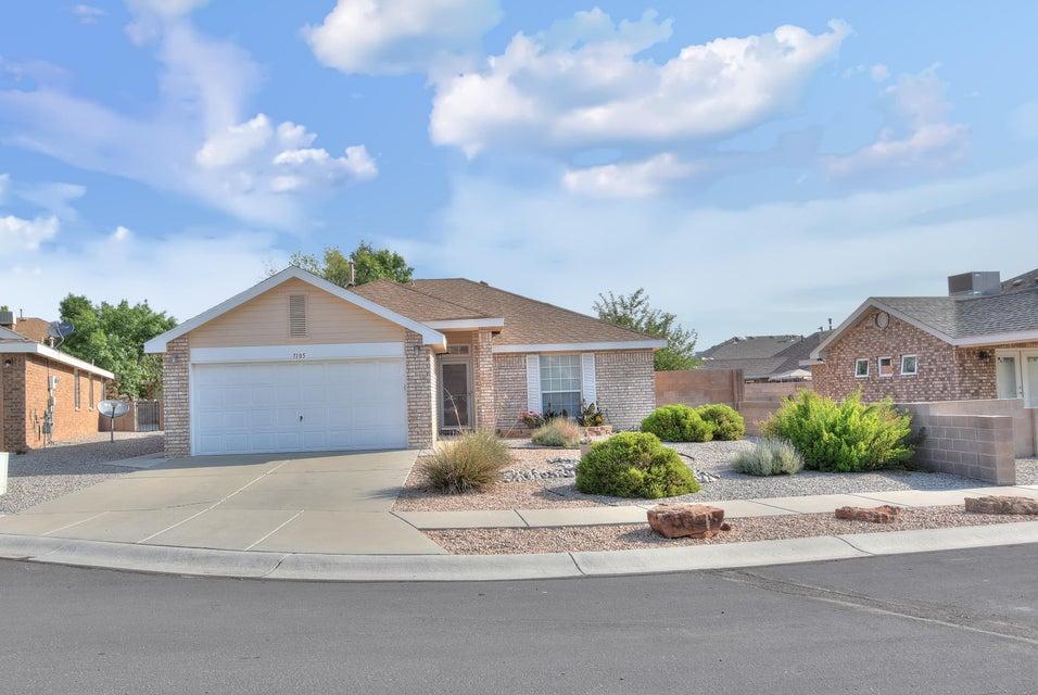 Northwest Albuquerque and Northwest Heights Homes for Sale -  Cul De Sac,  7105  Acton Court