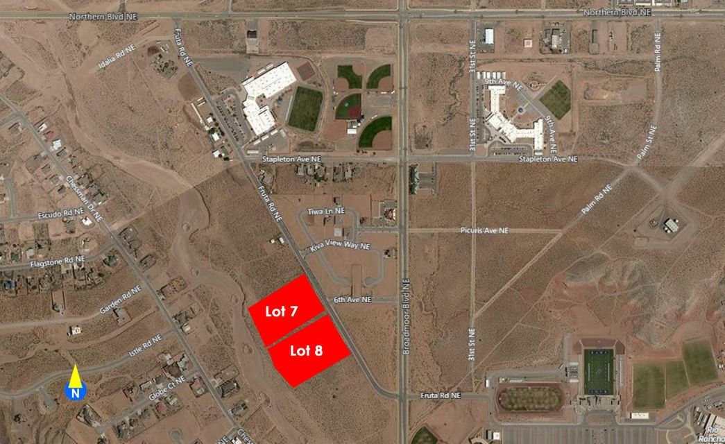 Fruta (TW L7,8 B123 U13) Road NE, one of homes for sale in Rio Rancho