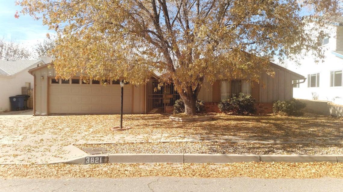 3821 NE Inca Street, Albuquerque Northeast Heights in Bernalillo County, NM 87111 Home for Sale