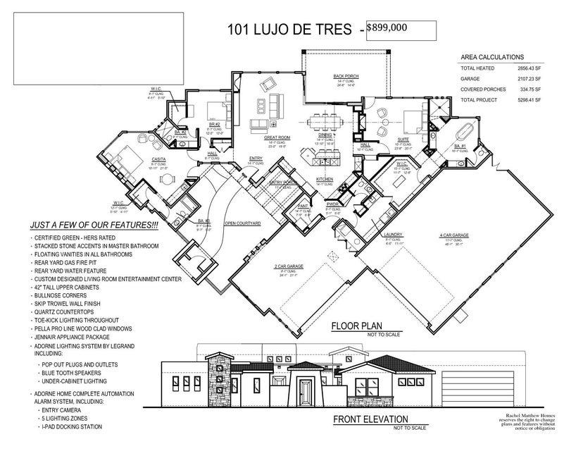 101 LUJO DE TRES, CORRALES, NM 87048