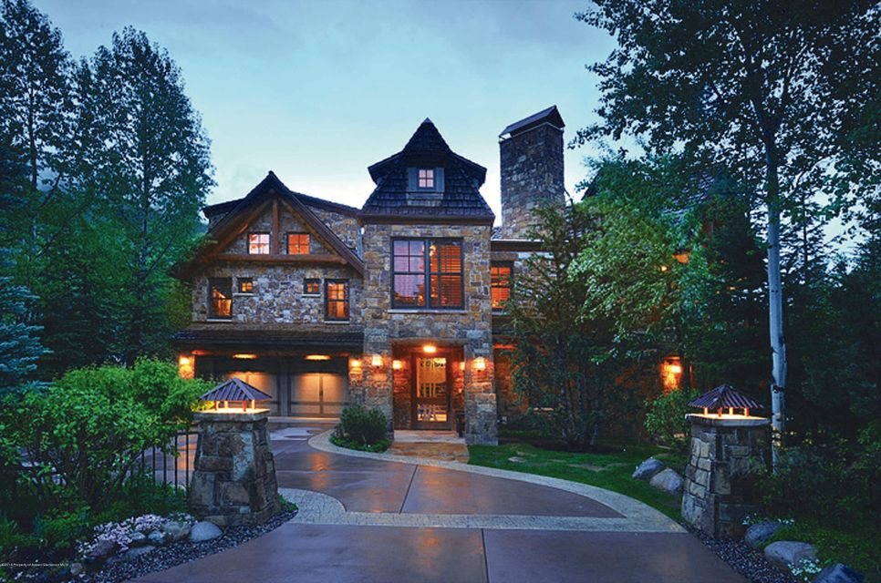 1240 riverside drive aspen co 81611 coldwell banker for Colorado mountain houses