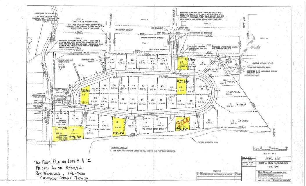 125 Oak Ridge Circle #Lot 15 Oak Creek, Co 80467 - MLS #: 149948