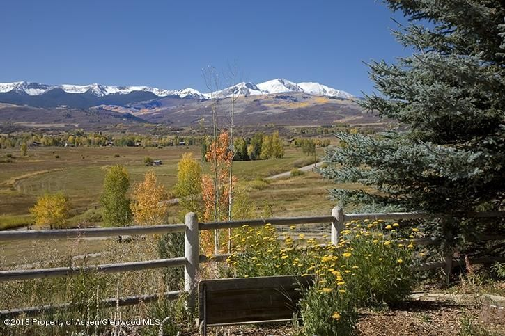 6890 E Sopris Creek Road - Old Snowmass, Colorado
