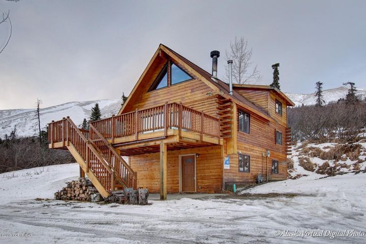 Anchorage log homes alaska real estate for Alaska log home builders