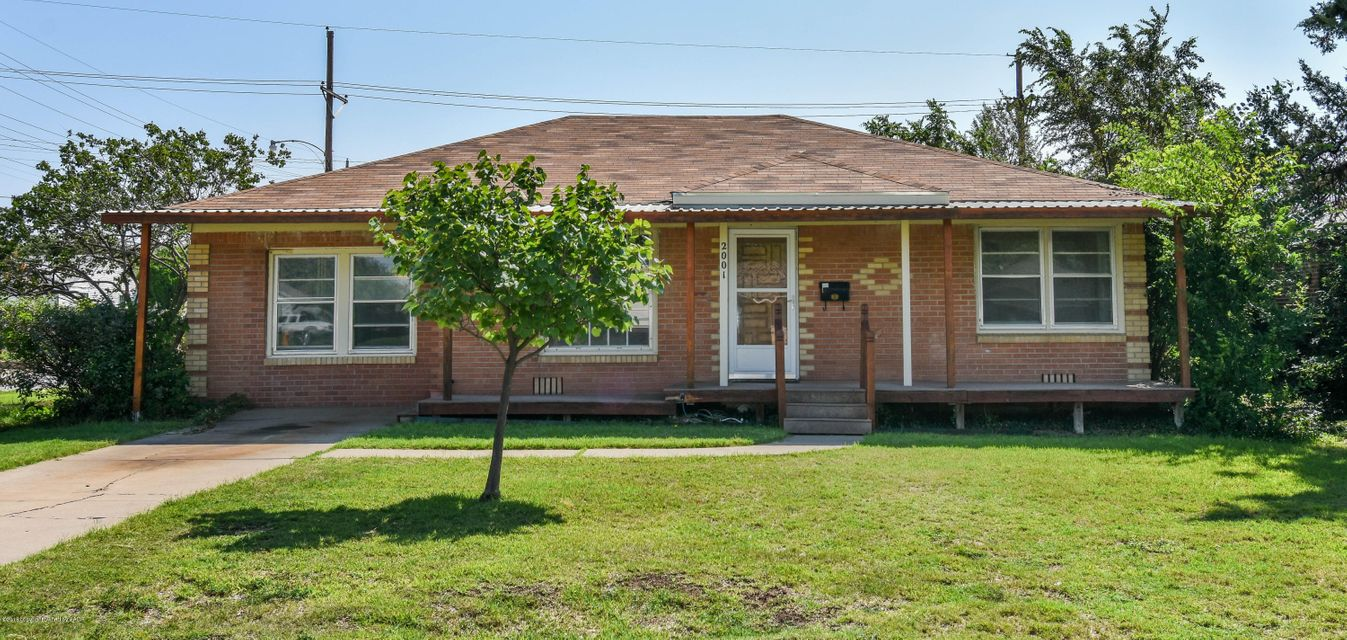 2001 S Fannin St, Amarillo in Potter County, TX 79109 Home for Sale
