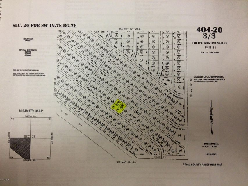 2660 W MAPLE Street Lot 27, Eloy, AZ 85131