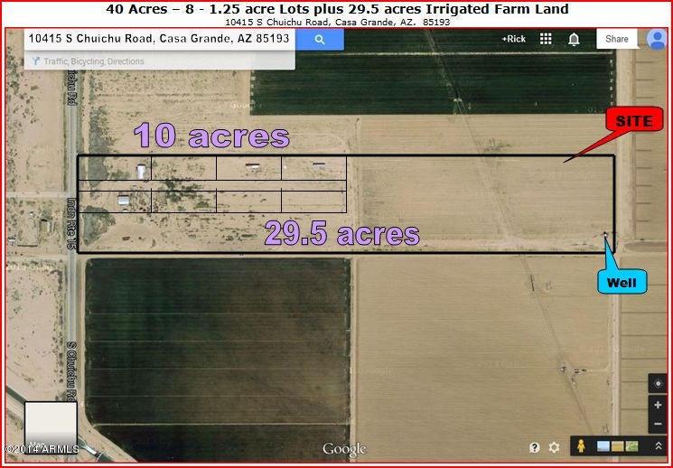 10415 S CHUICHU Road Lot 022, Casa Grande, AZ 85193