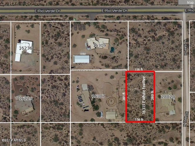 16315 E White Feather Lane Lot 0, Scottsdale, AZ 85262
