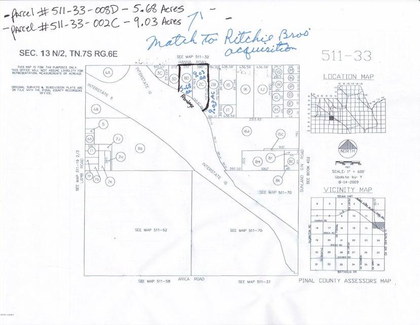0000 W Hanna Road Lot 0, Casa Grande, AZ 85194