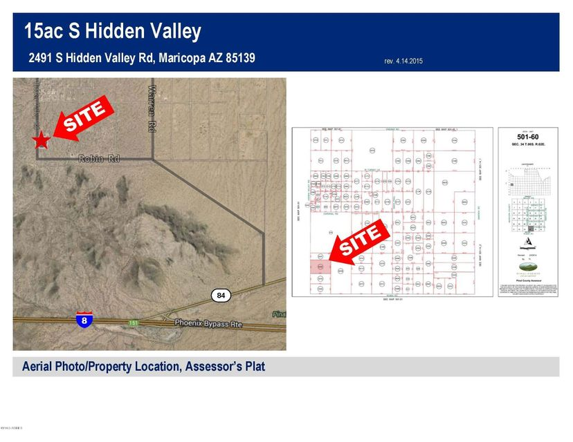 2491 S HIDDEN VALLEY Road Maricopa, AZ 85139 - MLS #: 5231016