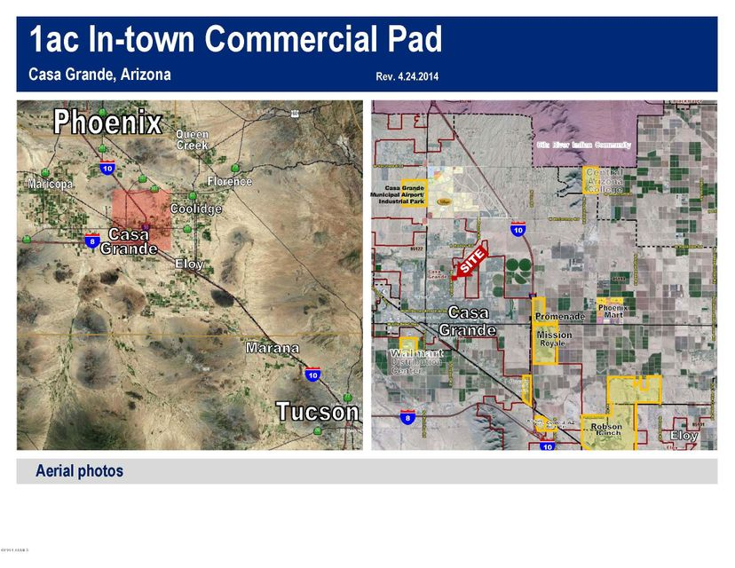 S of SEC Trekell and Kortsen Road Casa Grande, AZ 85122 - MLS #: 5304122