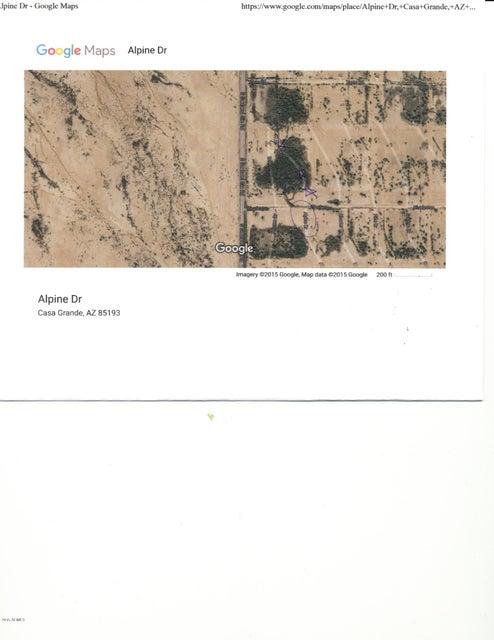 3025 N ALPINE Drive Lot 3, Eloy, AZ 85131