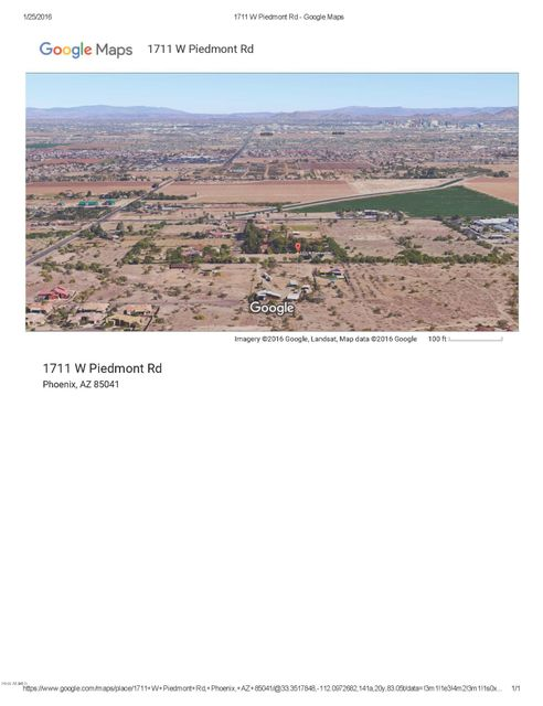 1711 W PIEDMONT Road Lot 2, Phoenix, AZ 85041