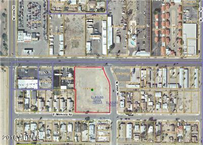 2853 E Van Buren Street Lot 1, Phoenix, AZ 85034