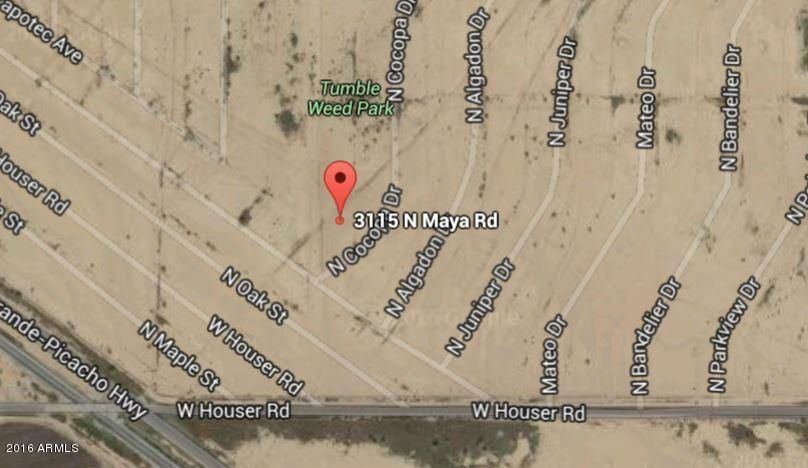 3115 N MAYA Road Lot 2, Eloy, AZ 85131