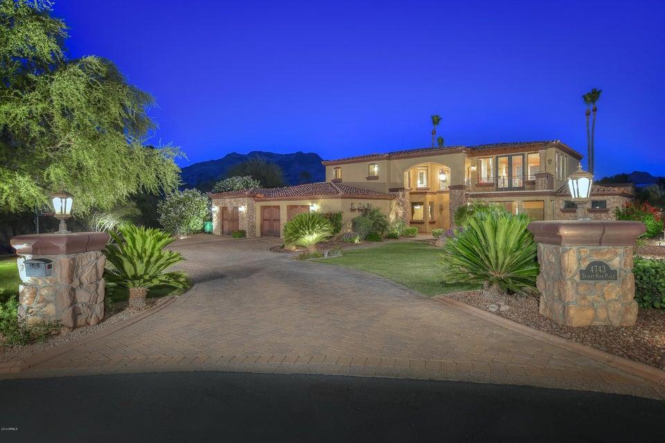 4743 E DESERT PARK Place, Paradise Valley, AZ 85253