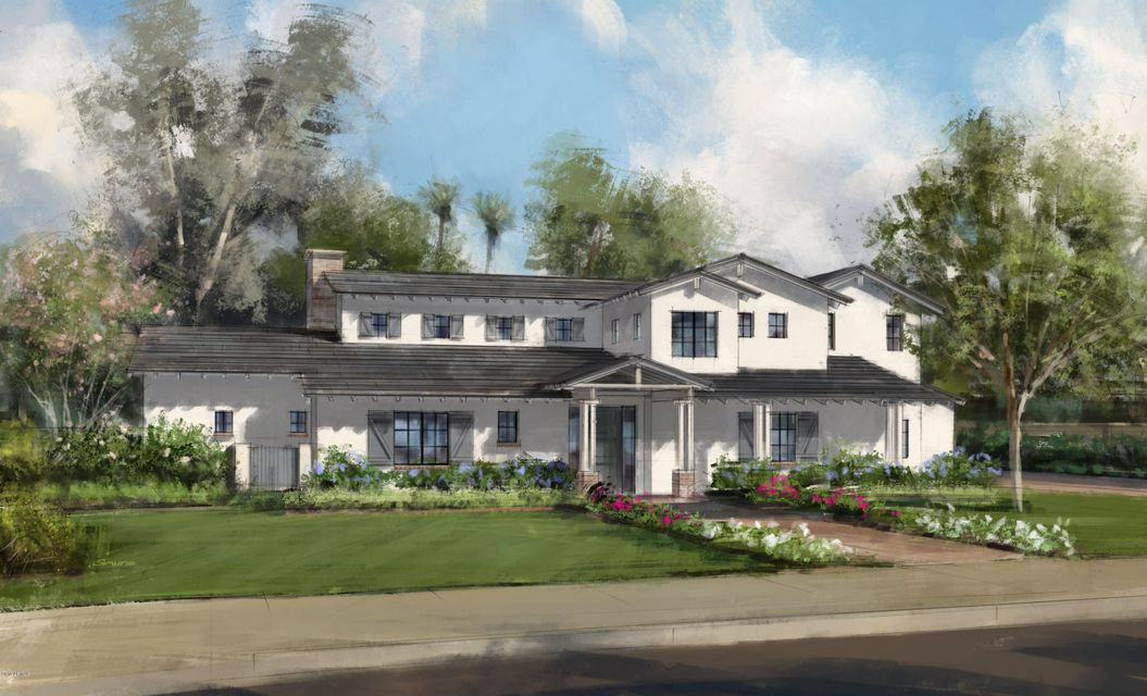 1 of 3 custom homes that remain in the all new Arcadia Parkside by Skapa Properties. Located along the corner of 56th and Osborn, this one-of-a-kind luxury neighborhood will be the crown jewel of lower Arcadia. Each home is just under 4000 sqft and consists of 4 bedrooms, 4 baths w/ opt. 5th bed. Contemporary, European design inc. French oak wood flooring, custom millwork, reclaimed wood beams, soapstone counters and more. Exceptional livability with a tremendous floor plan and the perfect amount of natural light. Well-appointed master retreat with superb finishes and patio area. A quaint office adjacent to great room.  Located with everything at your fingertips in beautiful lower Arcadia. Only 3 home left for sale. Reserve your residence today. Delivery set for Dec 2016