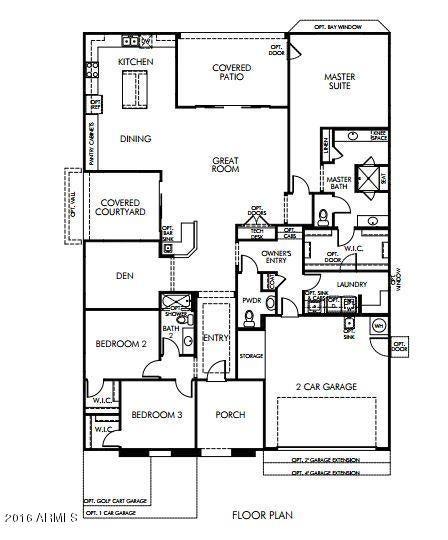 MLS 5457841 394 N Marcos Court, Casa Grande, AZ 85194 Casa Grande AZ Newly Built