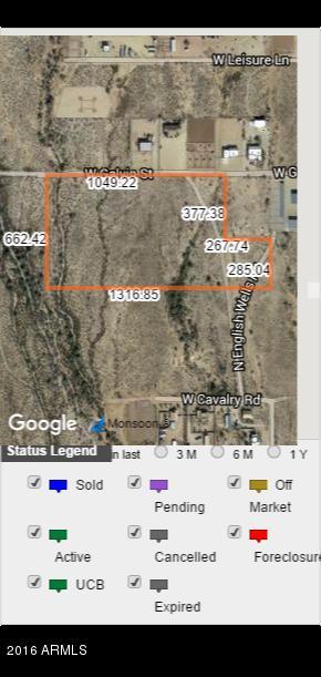 213th Ave W Galvin Road W, Wittmann, AZ 85361