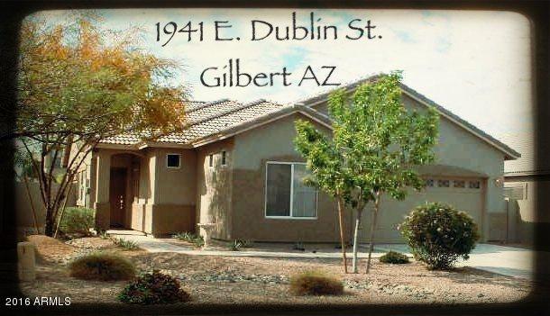 1941 E DUBLIN Street, Gilbert, AZ 85295