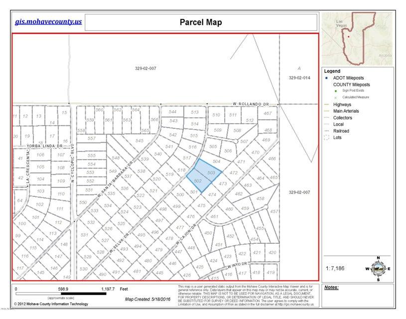 503 W Selva Drive Lot 503, White Hills, AZ 86445