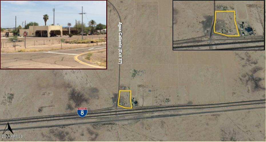 0 S Interstate 8 & Agu Calient Road Sentinel, AZ 85333 - MLS #: 5478397