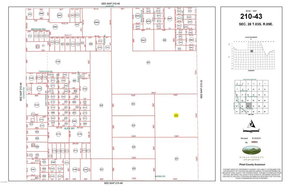 40 Acres -- Lot 026, Florence, AZ 85132