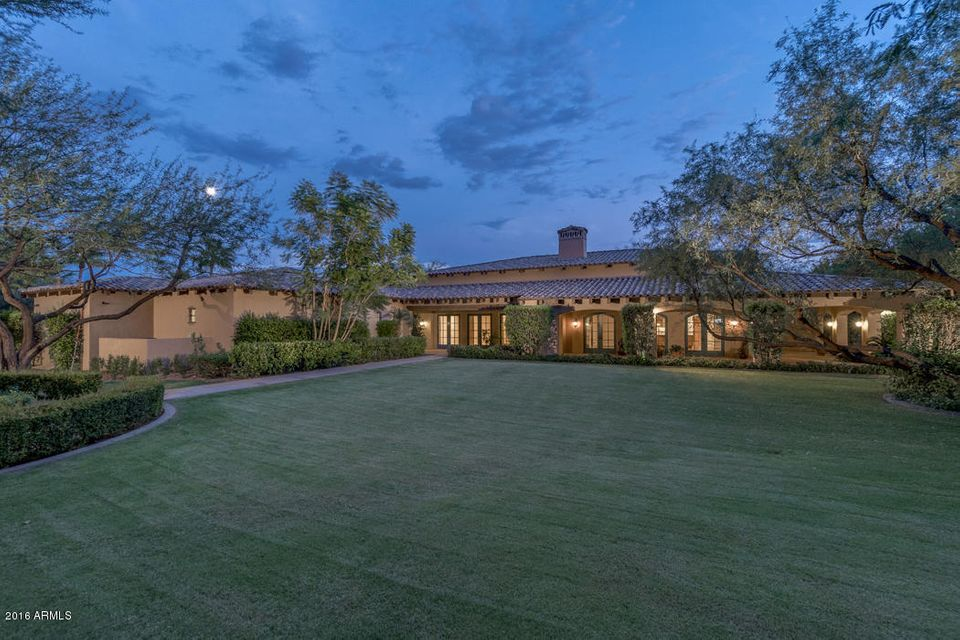 Single Family Home for Sale at 6658 E Indian Bend Road Paradise Valley, Arizona,85253 United States