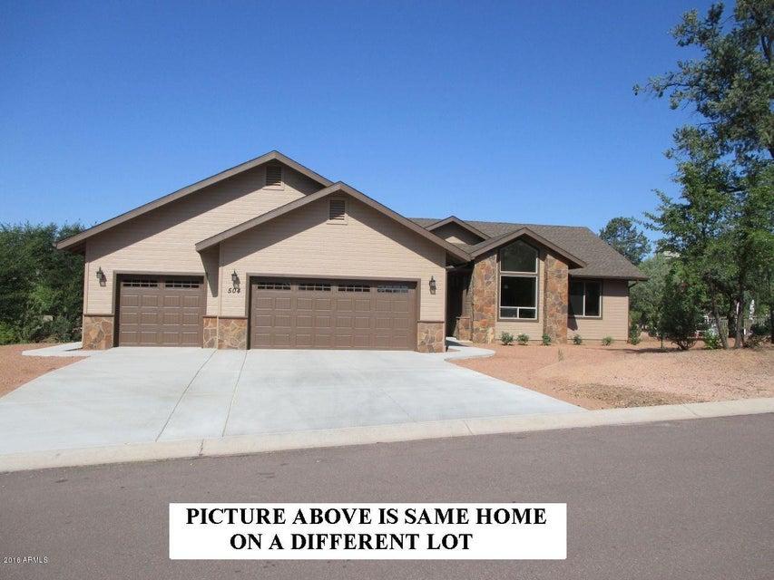 MLS 5503277 406 S Forest Ridge Court, Payson, AZ Payson AZ Newly Built