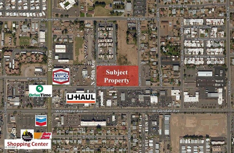 NEC Glenn & 50th Avenue Lot 25,28, Glendale, AZ 85301