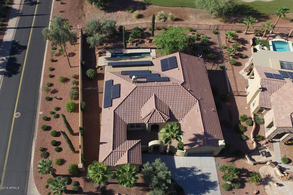 MLS 5513767 22814 N DE LA GUERRA Drive, Sun City West, AZ 85375 Sun City West AZ Tennis Court