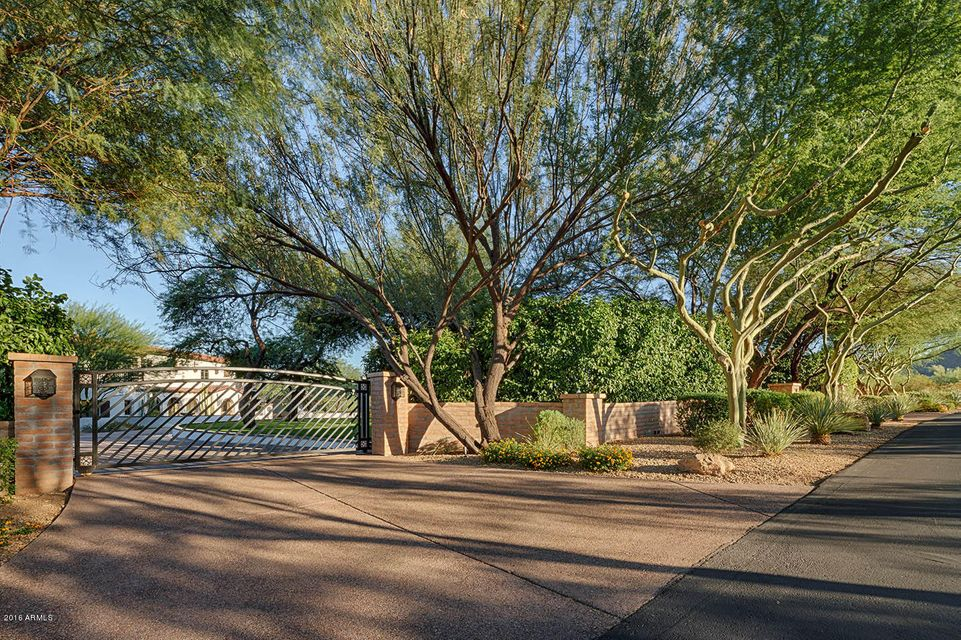 MLS 5525771 7835 N Ironwood Drive, Paradise Valley, AZ Paradise Valley Horse Property for Sale