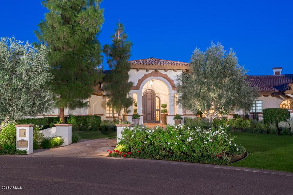 Single Family Home for Sale at 8631 N 61st Place Paradise Valley, Arizona,85253 United States