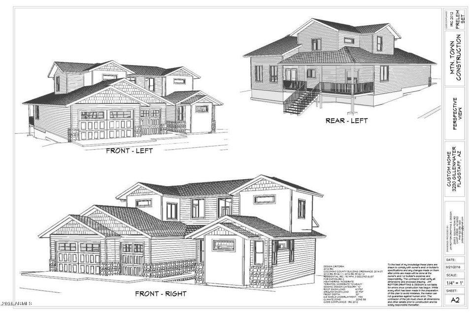 MLS 5526225 3230 S GILLENWATER Drive, Flagstaff, AZ Flagstaff AZ Newly Built