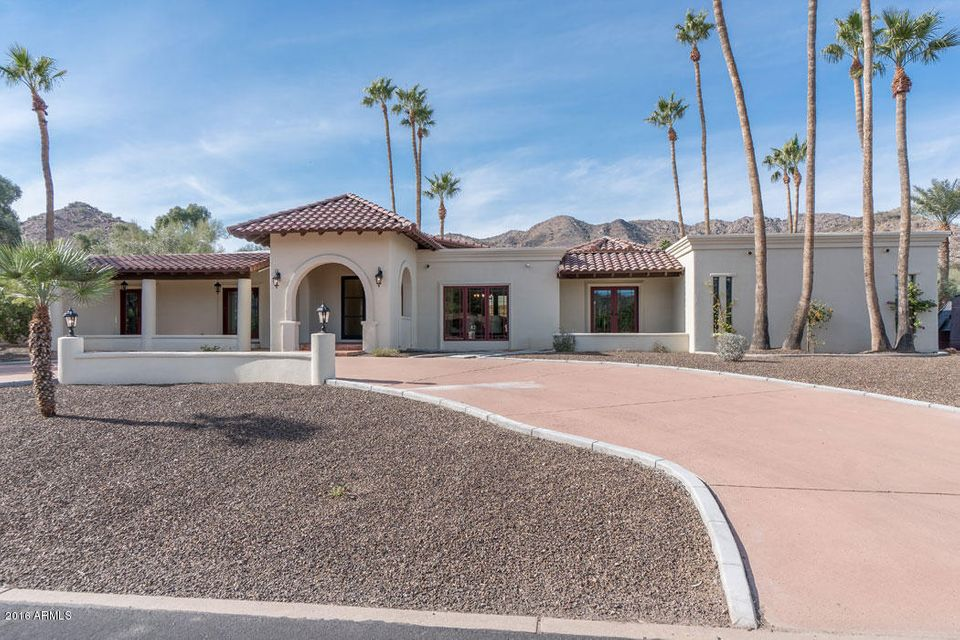 Single Family Home for Sale at 7832 N Ridgeview Drive Paradise Valley, Arizona,85253 United States