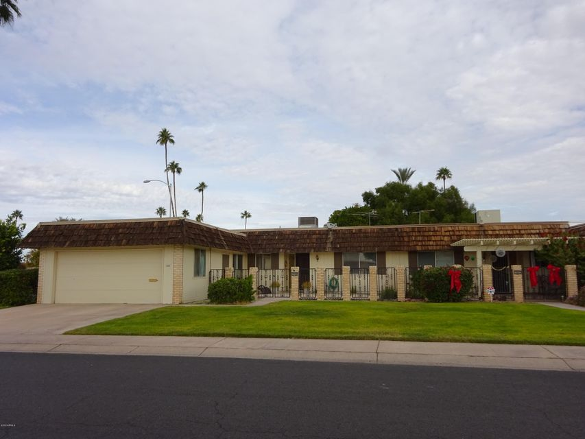 MLS 5537459 10664 W TROPICANA Circle, Sun City, AZ Scenic