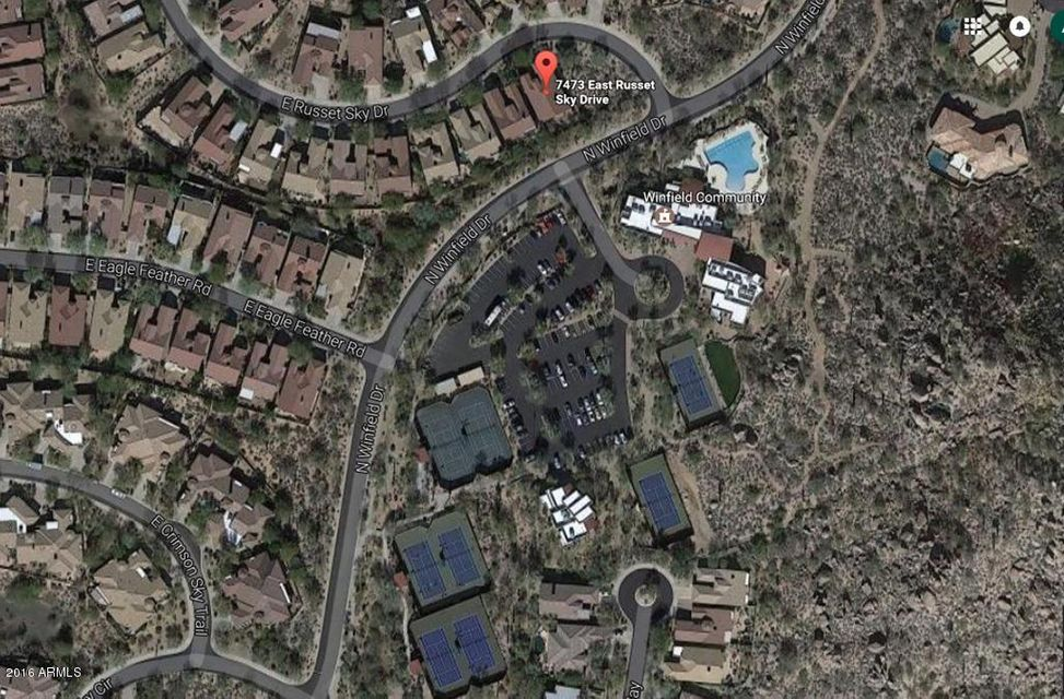 MLS 5542332 7473 E Russet Sky Drive, Scottsdale, AZ 85266 Scottsdale AZ Winfield