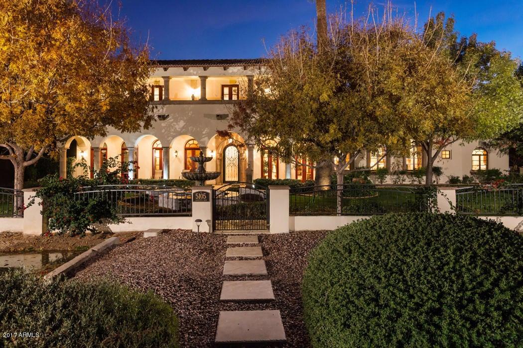 Single Family Home for Sale at 5105 E Lafayette Boulevard Phoenix, Arizona,85018 United States